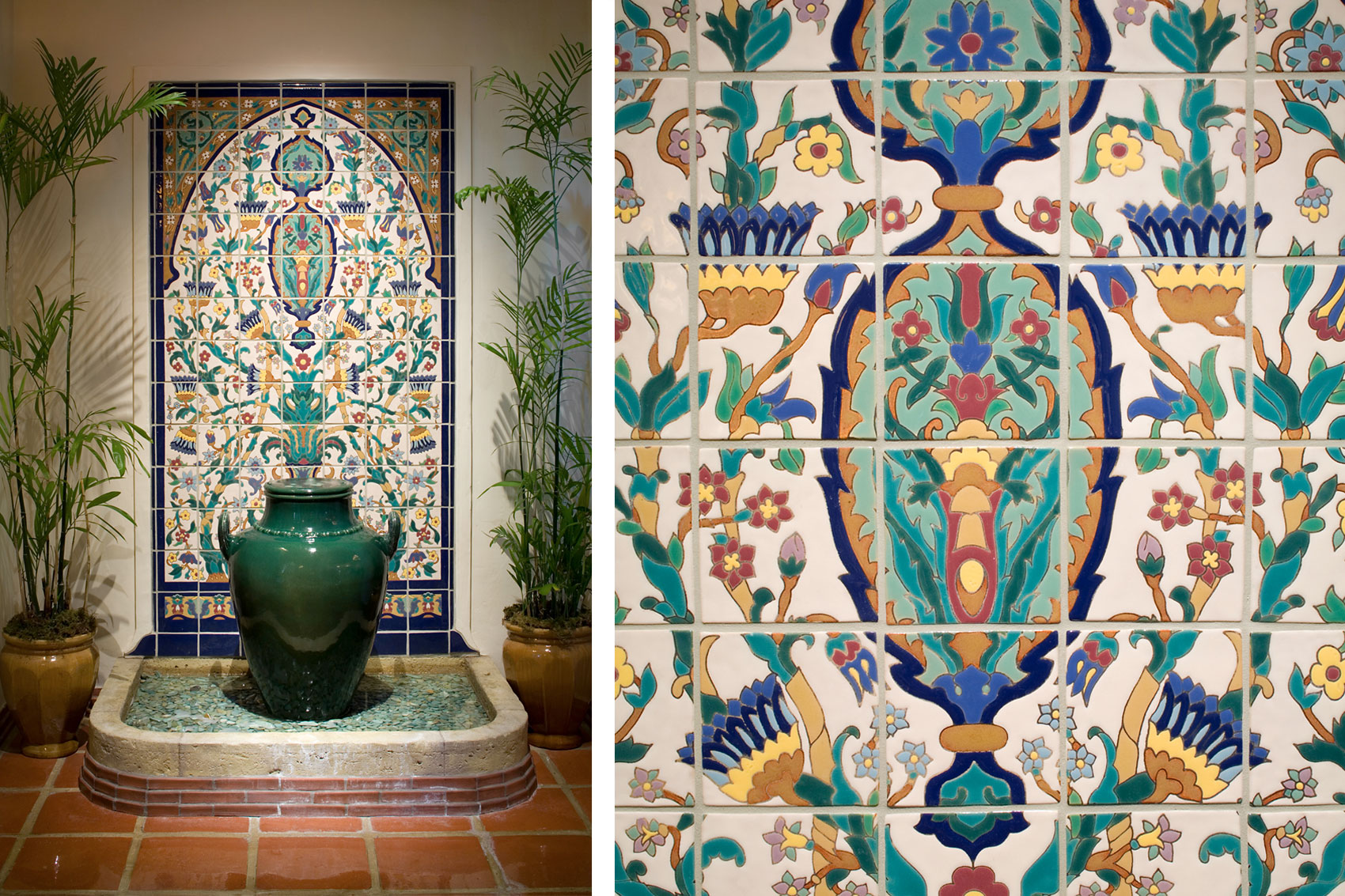 Four Seasons Biltmore Hotel Native Tile Amp Ceramics